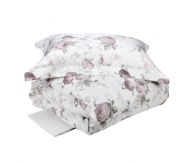 CLAIRE  DUVET 240X220+2 PILL.CASES 50X75+FLAT BOTT.SHEET 270X290BIANCO SETAComposition: 100% Cotton