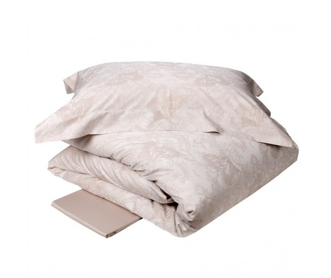 TALISMAN  DUVET 240X220+2 PILL.CASES 50X75+FLAT BOTT.SHEET 270X290 MIELE100% Cotton