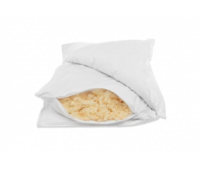 Pillow with inner core Perla Cirmolo